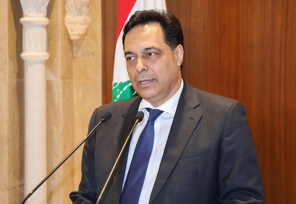 Lebanon's prime minister slams central bank chief over currency chaos