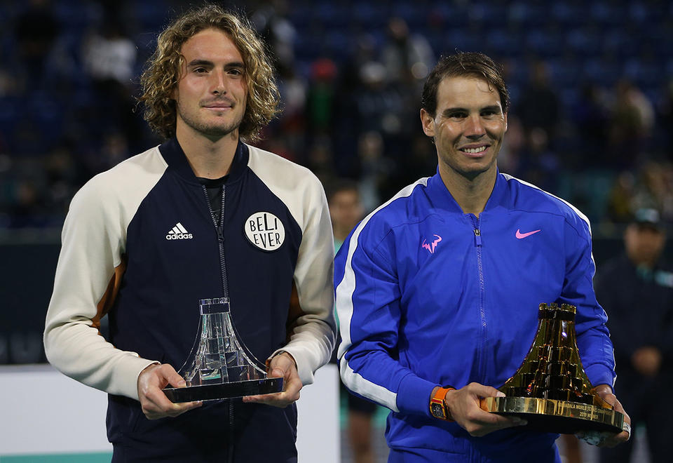 In pictures: Rafael Nadal wins record fifth Abu Dhabi title