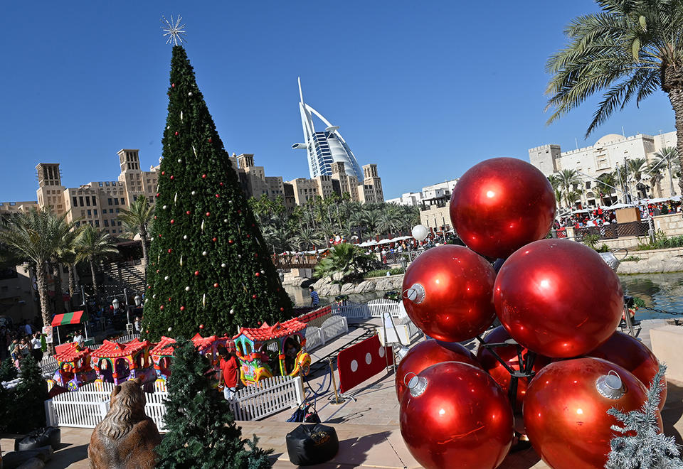 In pictures: Christmas was celebrated around the Middle East