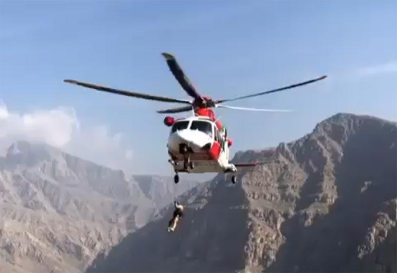 British hiker rescued after 100m fall from Ras Al Khaimah mountain