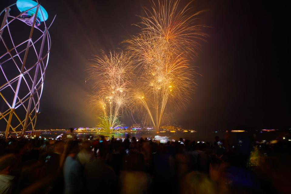 In pictures: From Dubai's last sunset of 2019 to New Year's Eve celebrations at JBR