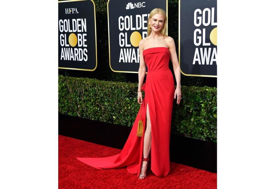 In pictures: Hollywood stars shine on 2020 Golden Globes red carpet