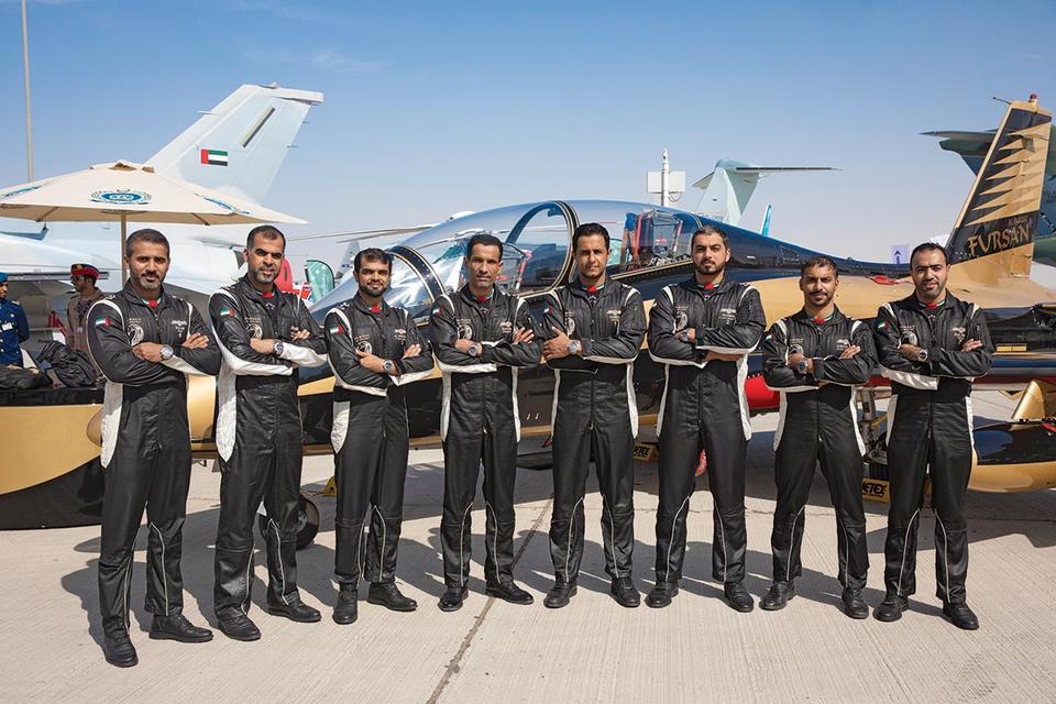 Breitling celebrates UAE aerobatics team with limited-edition Avenger timepiece