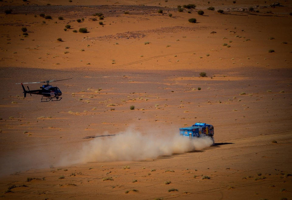 In pictures: Stage 3 of the Saudi Dakar Rally 2020 around Neom