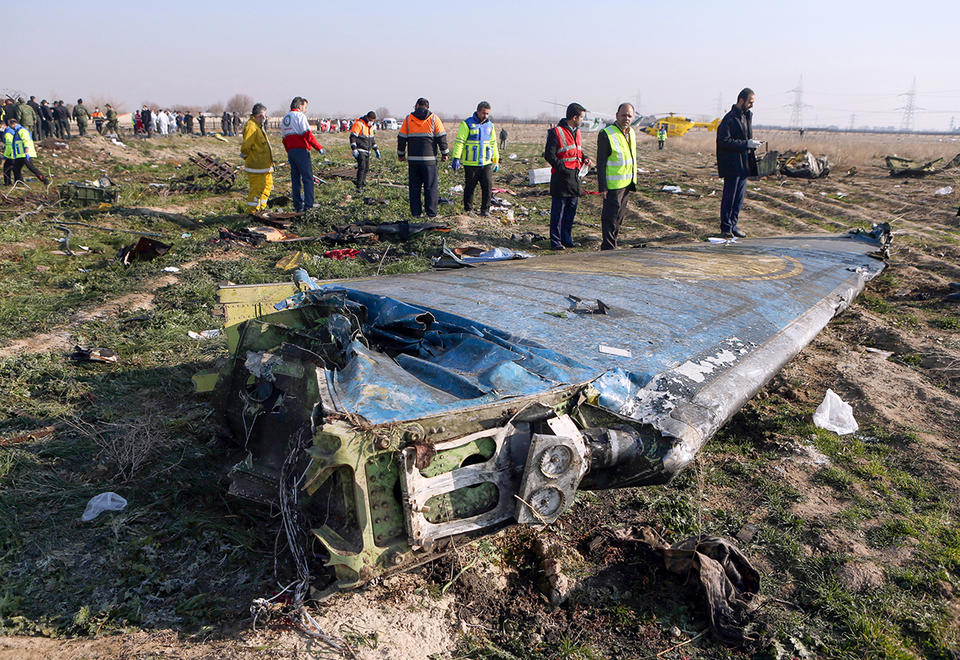 Iran denies 'cover up' over downed Ukrainian plane