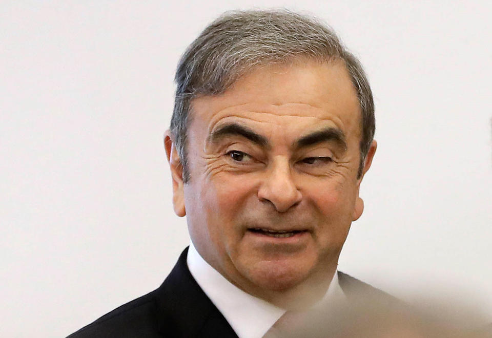 Carlos Ghosn's lawyers face off against Nissan in Dutch court