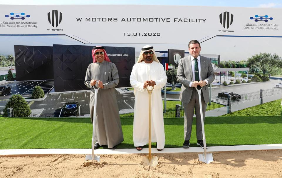 Luxury car maker starts work on $100m Dubai manufacturing hub