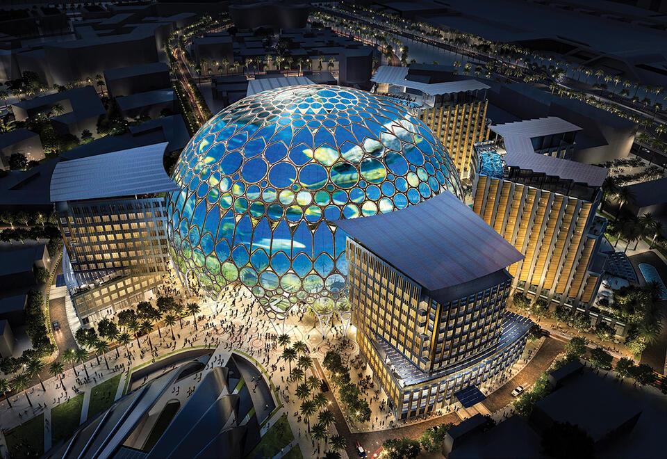 UAE leaders inaugurate Al Wasl Plaza, the heart of Expo 2020 Dubai site