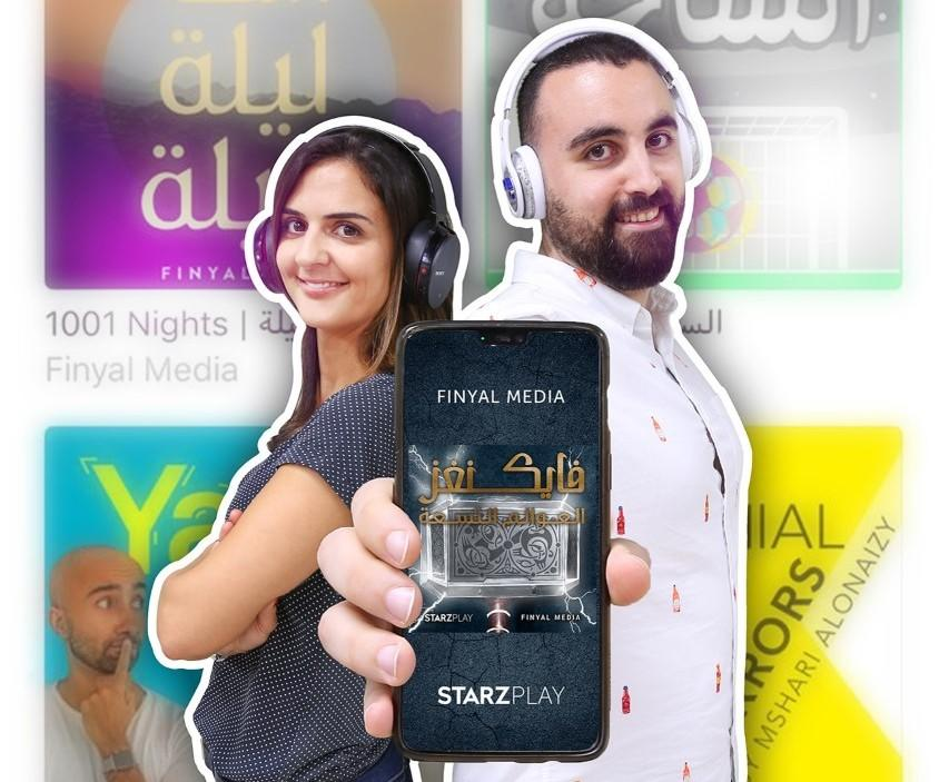 StarzPlay, Finyal Media to launch Arabic podcast series