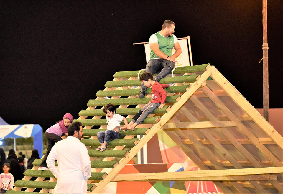 In pictures: Saudi's Sports for All Federation's family activity day across seven Saudi cities