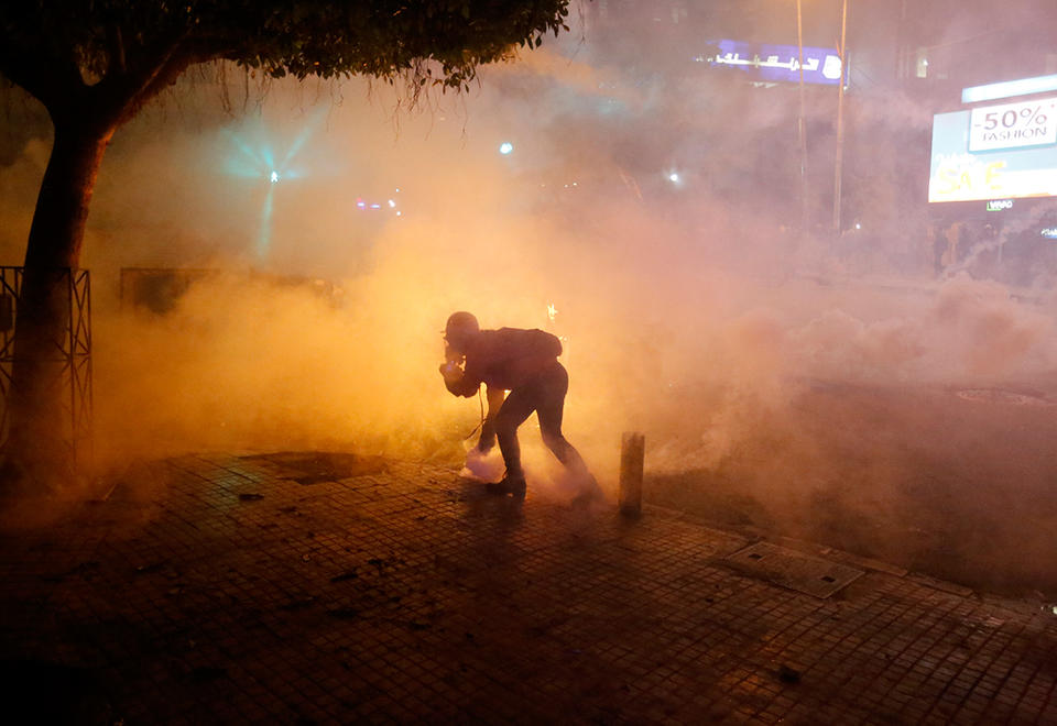 Lebanon releases protesters after two nights of violence