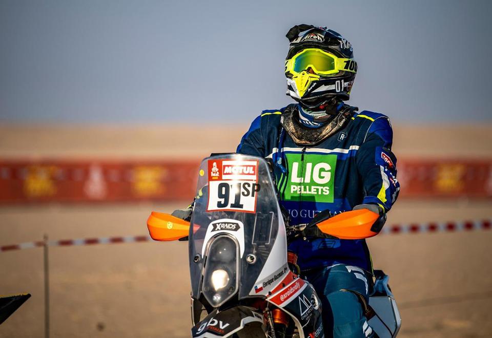 In pictures: Dakar stage 10 through the dunes of Saudi Arabia's Empty Quarter