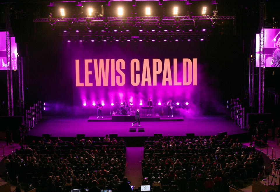 In pictures: Scottish singer Lewis Capaldi at the Al Majaz Amphitheatre in Sharjah