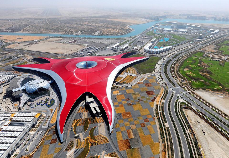 Thrill-seeking to be taken to new heights at Ferrari World Abu Dhabi