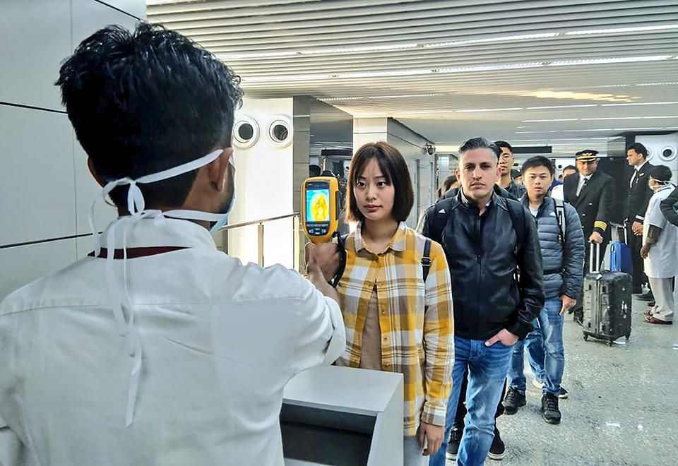 India to screen passengers arriving from China, Hong Kong at airports