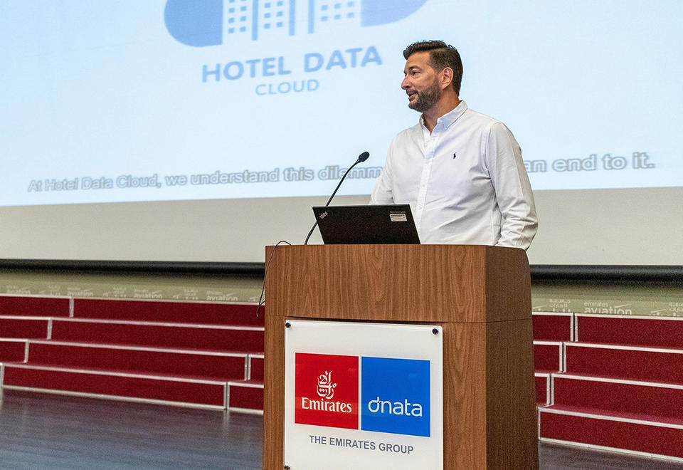 Entrepreneur of the Week: Gregor Amon, co-founder and managing partner of Hotel Data Cloud