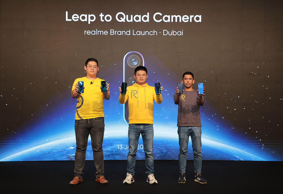 Chinese tech firm Realme launches smartphone brand in the UAE