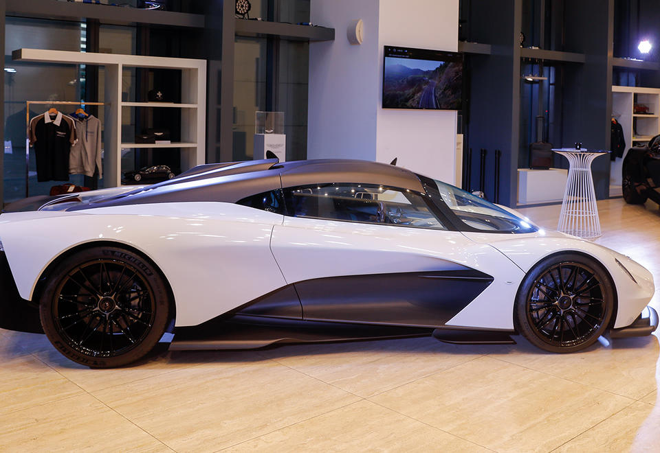 In pictures: Aston Martin's latest hypercar, Valhalla makes UAE debut