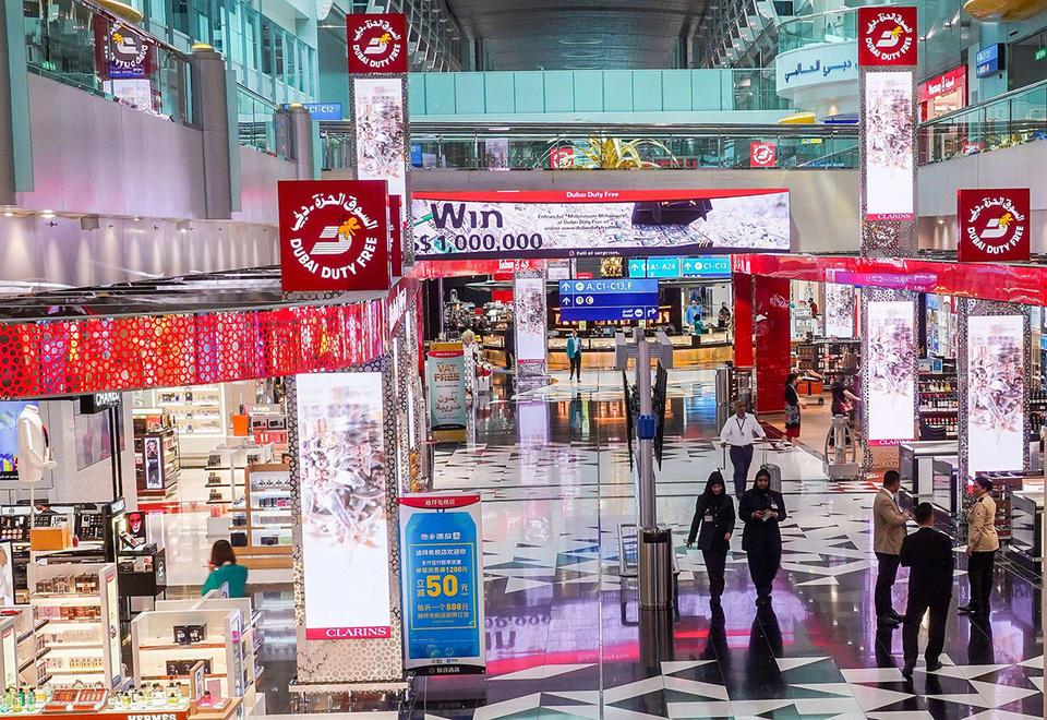 Dubai Duty Free sales down 49% on Covid-19, says McLoughlin