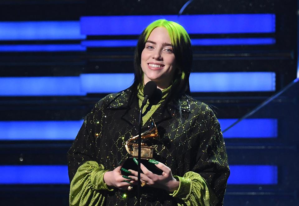 Billie Eilish cleans up at Grammys