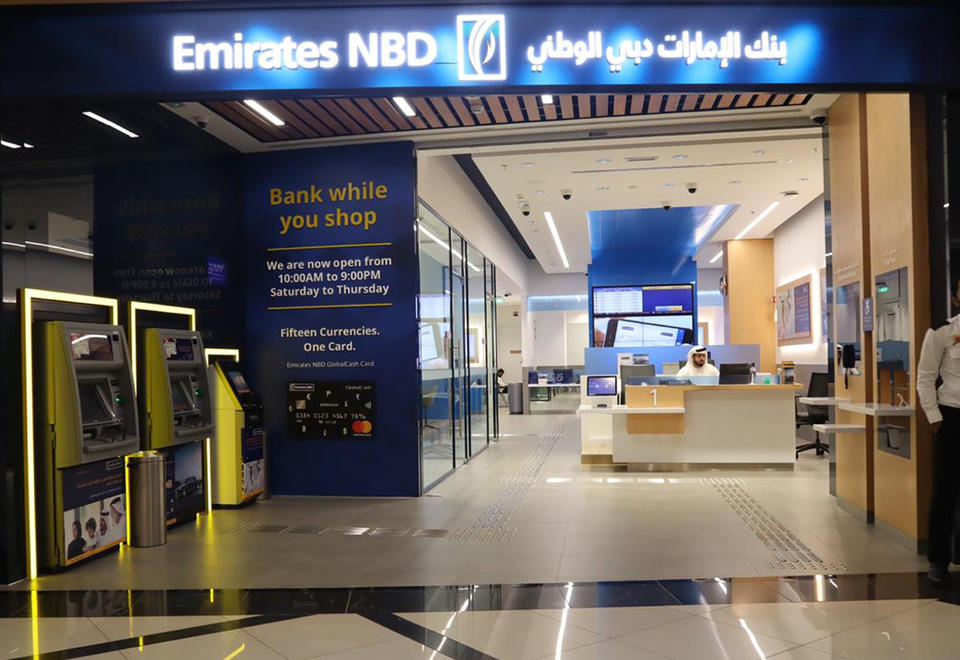 Emirates NBD reveals 44% increase in net profit to record $3.9bn