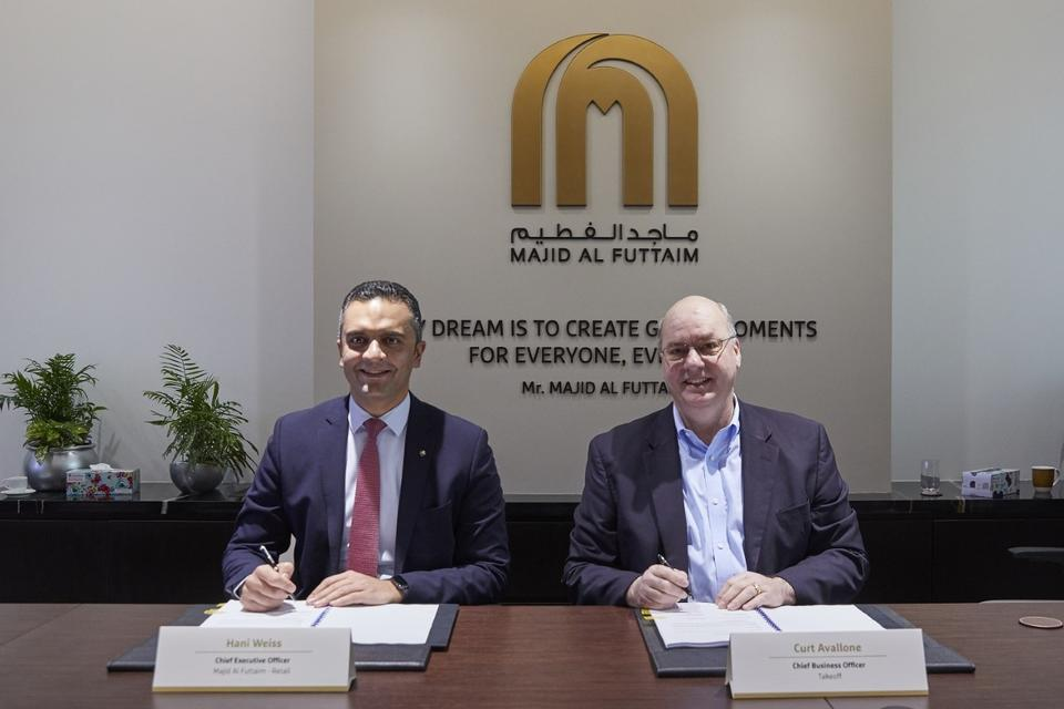 Dubai retail giant signs deal to revolutionise Carrefour online orders