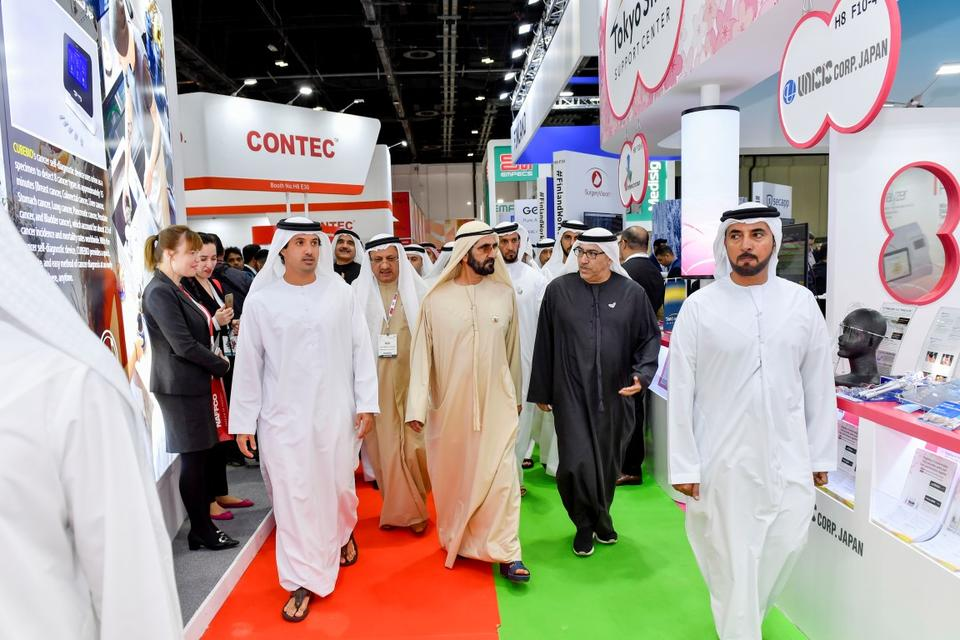 In pictures: Sheikh Mohammed visits Arab Health Exhibition 2020