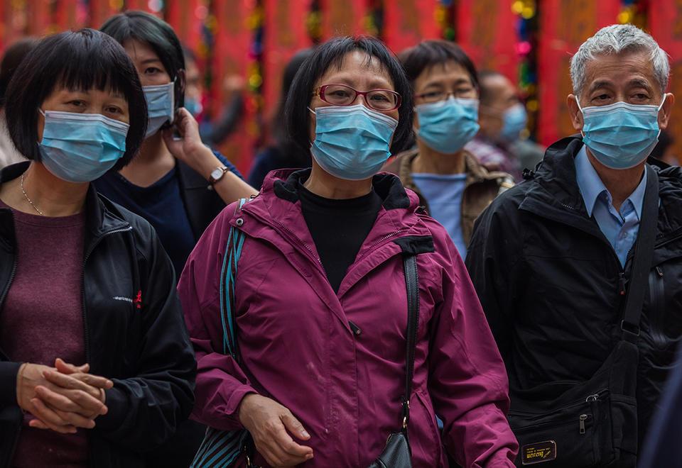 Stocks, oil falls as global markets react to Chinese coronavirus spread