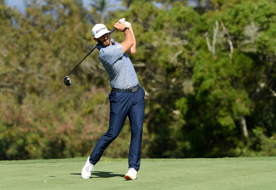 Defending champ Johnson fires 67 as McDowell sets early Saudi pace
