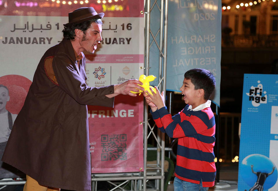 In pictures: Sharjah Fringe Festival came to an end
