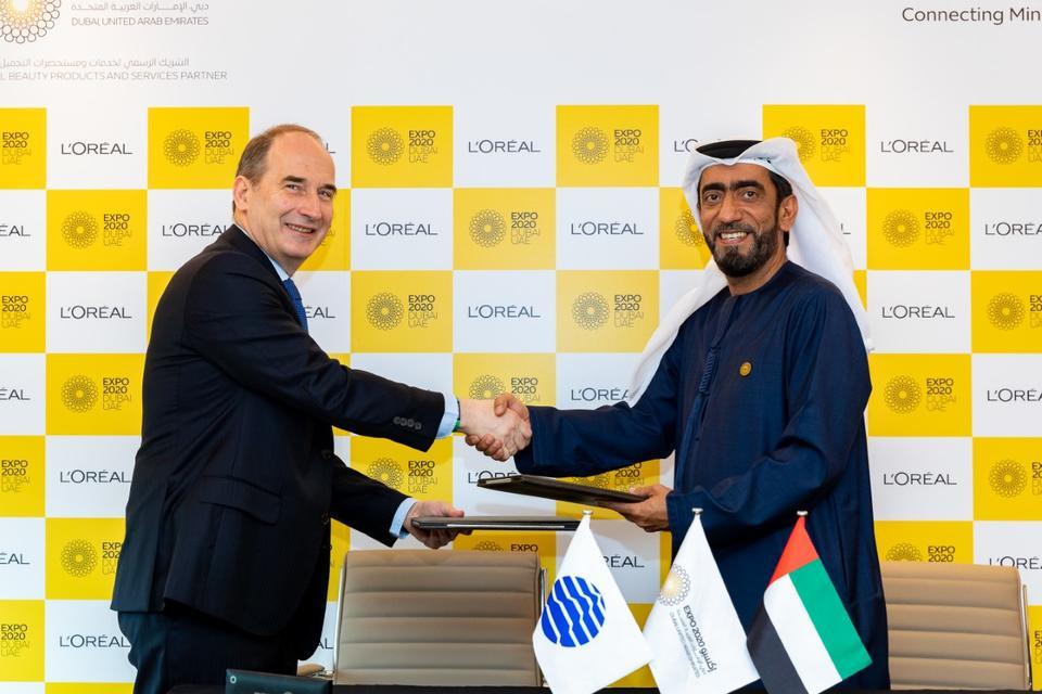 Beauty giant L'Oreal signs up as Expo 2020 Dubai partner