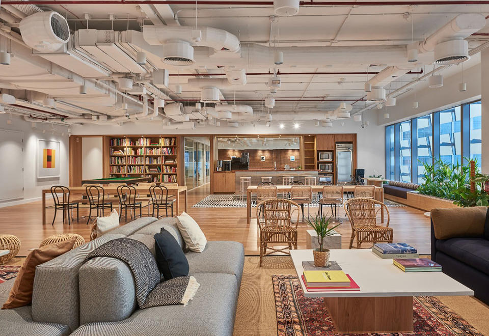 In pictures: A look inside UAE's first WeWork in Abu Dhabi at Hub71