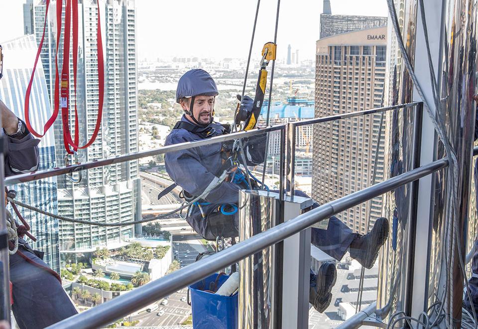 In pictures: Richard Hammond's new show 'Big' featues Dubai's Burj Khalifa