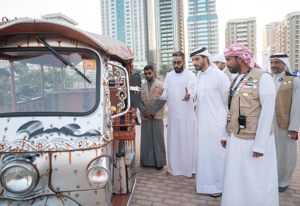 In pictures: Sharjah Wheelers Festival in Al Majaz Amphitheatre