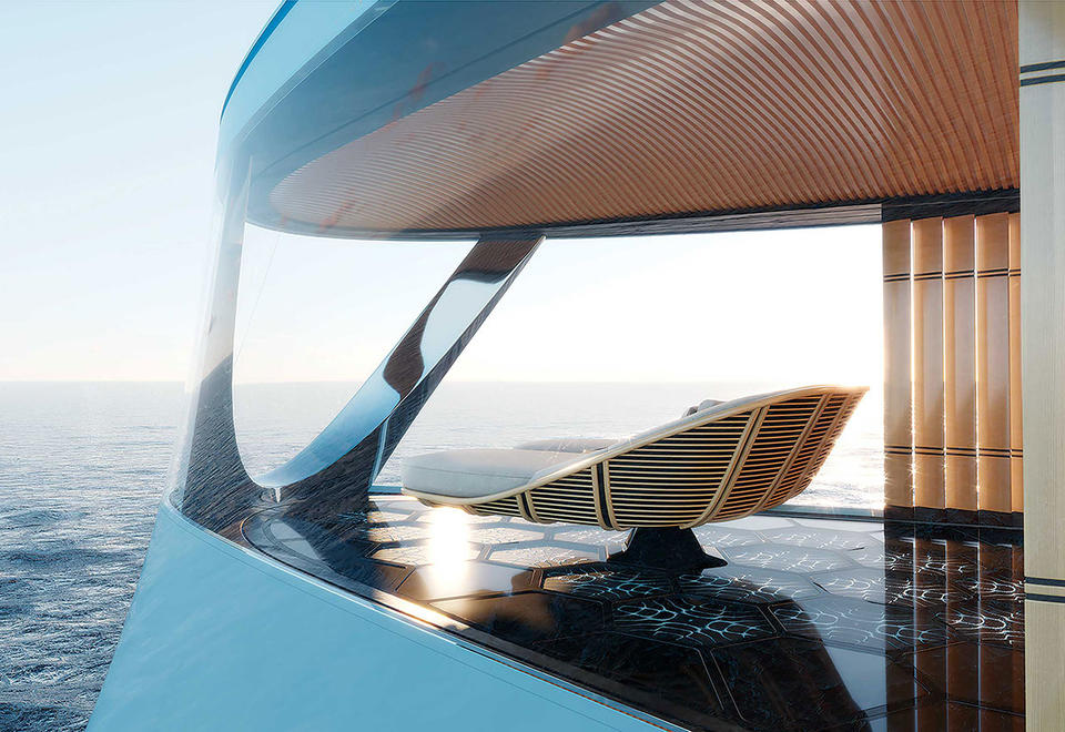 In pictures: A look inside $645 million hydrogen-powered superyacht Aqua