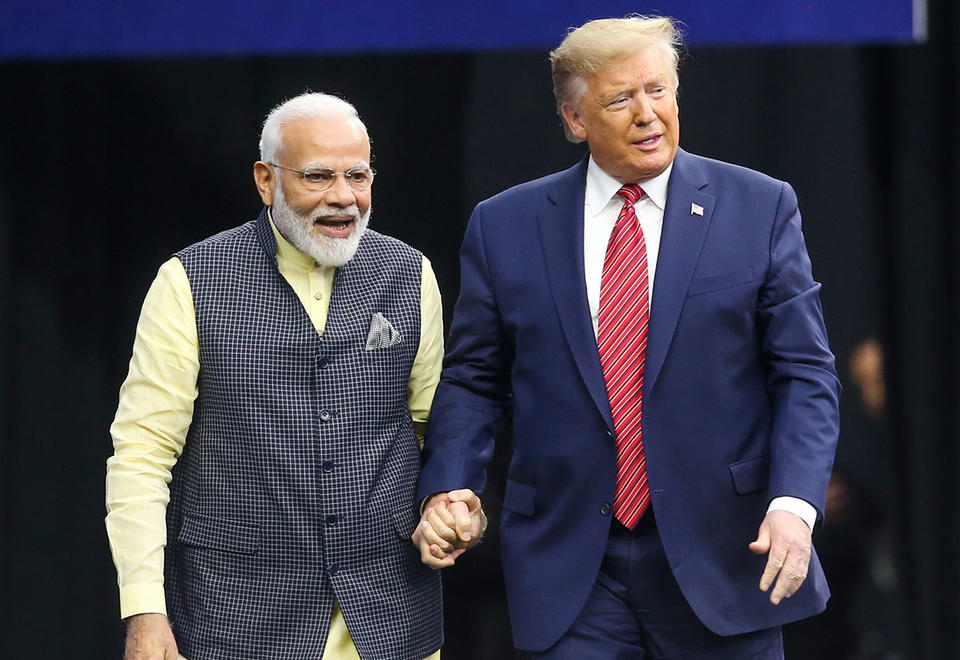 President Trump to visit India in late February
