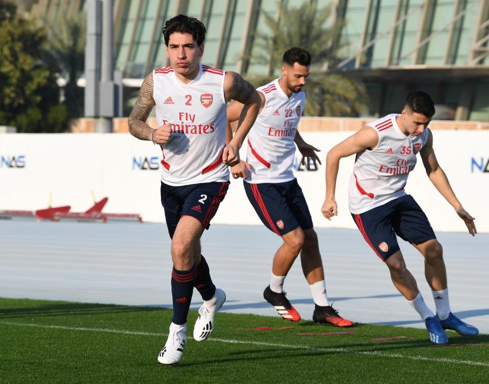 Emirates helps Arsenal prepare for Premier League run in with training camp in Dubai