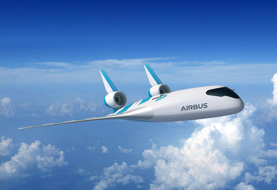 In pictures: Airbus new game-changing 'blended wing body' concept aircraft