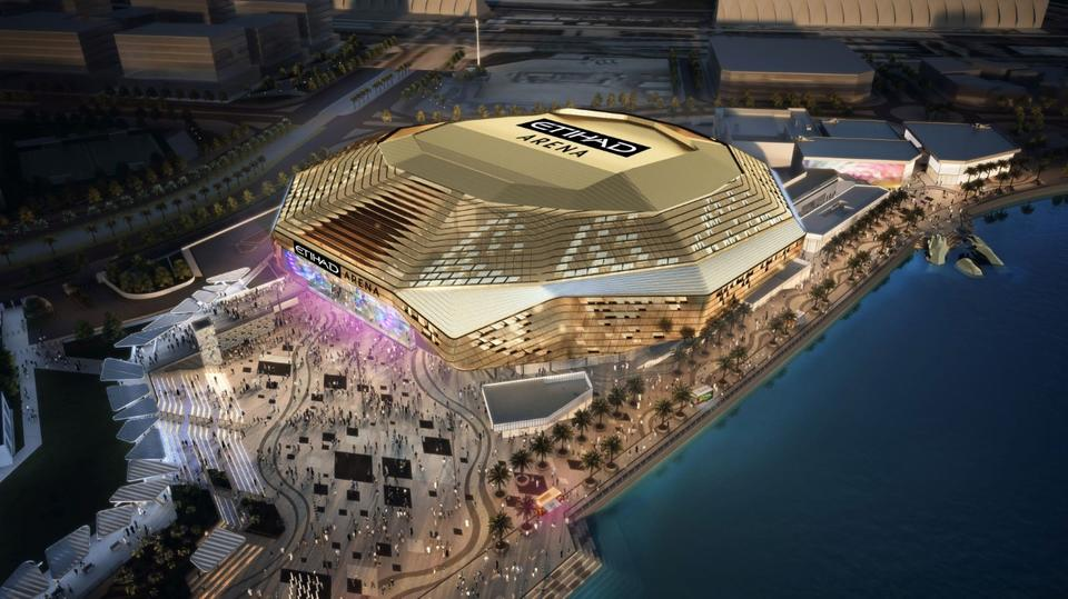 Abu Dhabi's Etihad Arena set to host first event in April