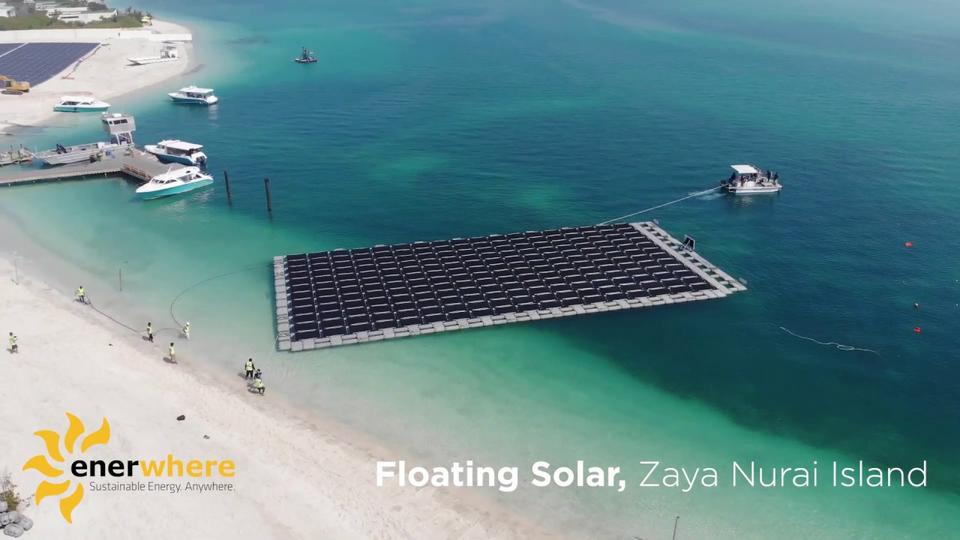 UAE's first floating solar plant set to start power production