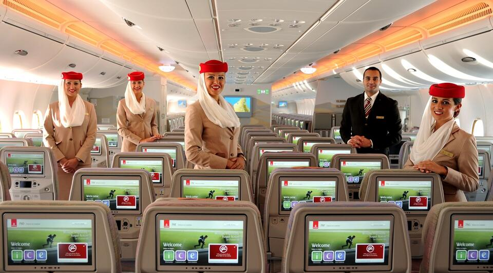 In pictures: Dubai's Emirates celebrates 30 years of service in Riyadh