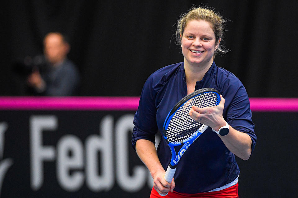 Clijsters 'feels good' despite losing first match in tennis comeback