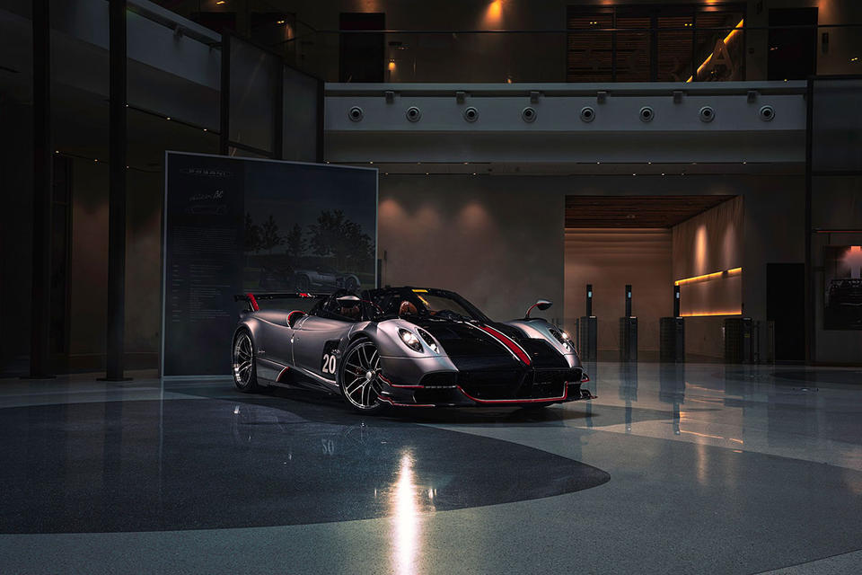 Over 10% of Pagani cars sold in Middle East and Africa