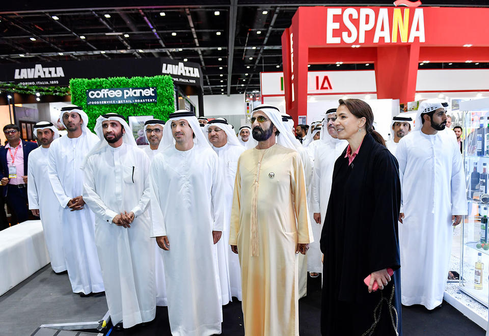 In pictures: Sheikh Mohammed visits Gulfood 2020