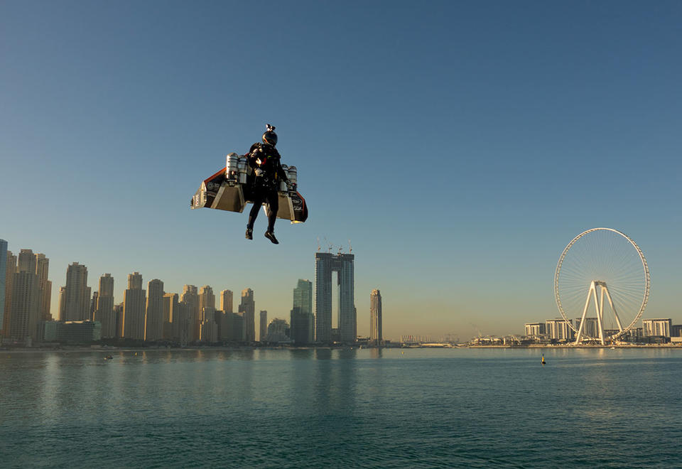 In pictures: Jetman soar over the skies of Dubai