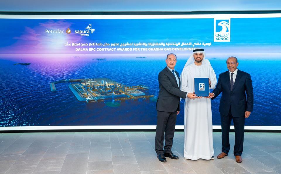 Petrofac wins $1.65bn deals for Abu Dhabi's Dalma gas project