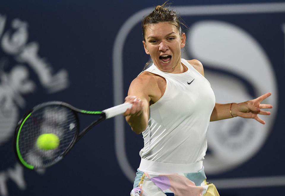 Simona Halep sets up Dubai final clash with Elena Rybakina