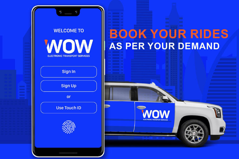 Ride-hailing app Wow begins operations in the UAE