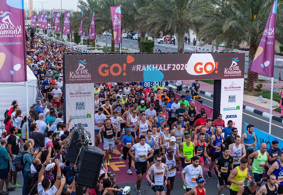 In pictures: Record-breaking 2020 Ras Al Khaimah Half Marathon