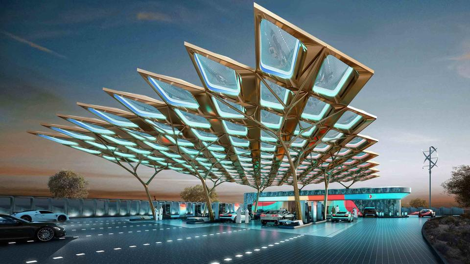ENOC's 'service station of the future' set for June completion